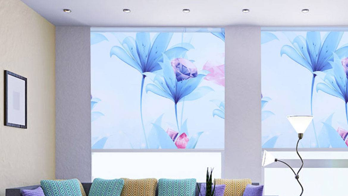 Printed Roller Curtain in Jamnagar